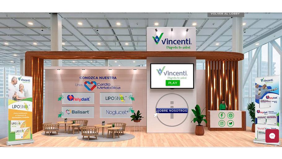 Vincenti presente en el Congreso Venezolano de Cardiologia 2021