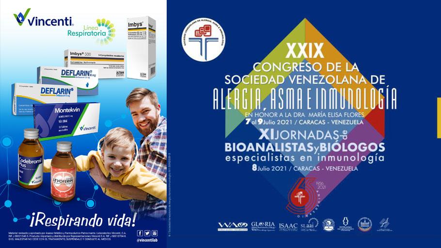 Vincenti en primera línea en el Congreso de Asma, Alergia e Inmunología